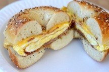 Classic Breakfast Bagel Sandwich