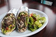 Gyro Wrap + Salad Meal