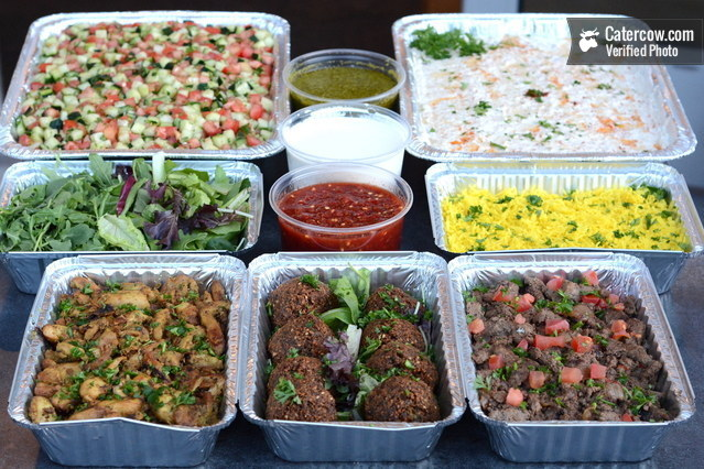 Deluxe Build Your Own Falafel Bar