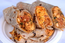 Indian Street Food Rolls
