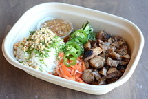 Individual Asian Fusion Healthy Rice Bowl