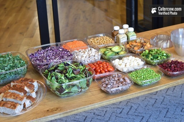 Classic Chef Salad Bar From Just Salad Catering On Catercow
