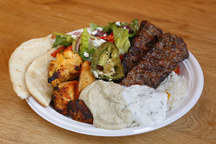 Hearty Mediterranean Kebabs, Mezes and Salads