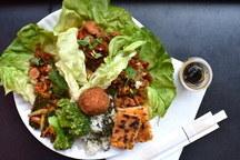 Korean Ssam Wraps Meal