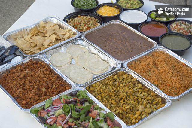Delicious DIY Tacos from Los Guzman Mexican Catering on CaterCow