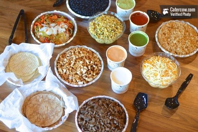 Healthy DIY Burrito Platos