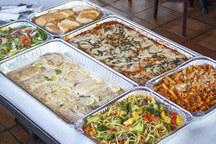 Italian Dishes & Fresh Salad