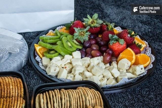 Fresh Fruit & Cheese Display